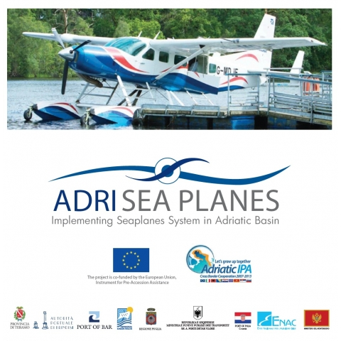 "ΑDRI-SEAPLANES: Implementation of the IPA Adriatic 2007-2013 project ""Αdri-SEAPLANES"""